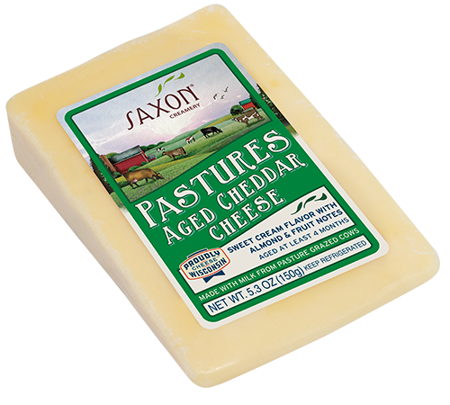 Pastures Aged Cheddar Cheese